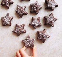 Veganiški kakaviniai speltų miltų sausainiai