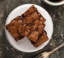 Šokoladainis su patisonais