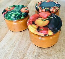 Padažas iš keptų pomidorų