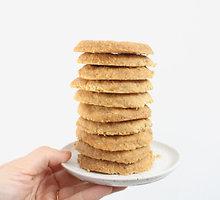 Lazdyno riešutų sausainiai vos iš 4 ingredientų