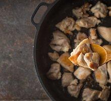Vištiena klevų sirupo ir garstyčių padaže