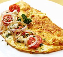 Perlenktas omletas