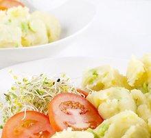 Žalioji bulvių košė