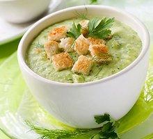 Brokolinių kopūstų sriuba
