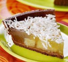 Gaivus ananasų pyragas