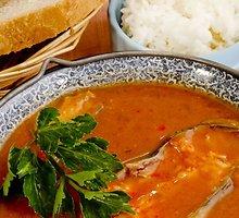 Žuvienė su ryžiais ir salierais