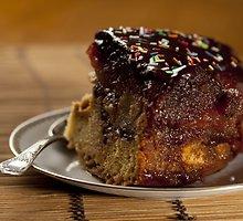 Šokoladinis obuolių pyragas