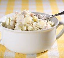 Bulvių ir salierų mišrainė