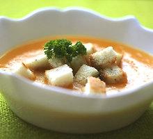Trinta cukinijų ir morkų sriuba