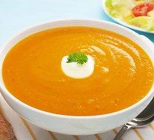 Trinta morkų sriuba su apelsinais ir imbieru