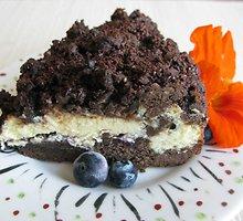 """Šokoladinis varškės pyragas su """"Rygos balzamu"""""""