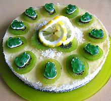 Vaisinis vaikiškas maskarponės tortas