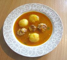 Sočioji sriuba su kalakutienos kukuliais