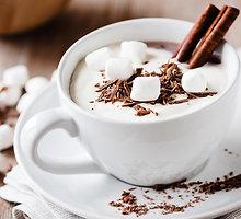 Paprastas karštas šokoladas