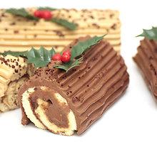 Prancūziškas kalėdinis vyniotinis