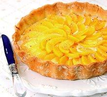 Tortas su persikais