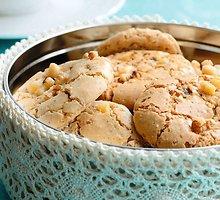 Traškūs riešutiniai sausainėliai