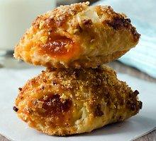 Sausainiai su šviežiu apelsinų džemu