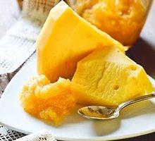 Moliūgų, apelsinų ir obuolių džemas