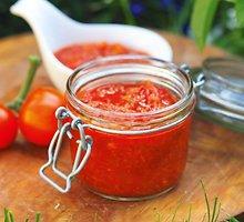 Pomidorų tyrė su morkomis