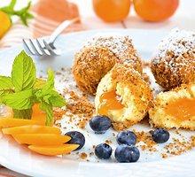 Virtinukai su abrikosais ir pyrago trupiniais
