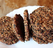 Lęšių sausainiai su sezamais