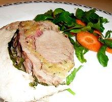 Trigubas mėsos kepsnys