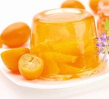 Apelsininė želė su agaru