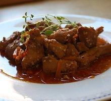 Aštrus vištienos troškinys kiniškai