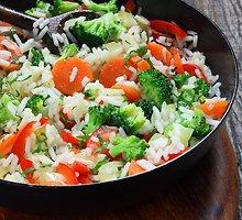 Vegetariškas daržovių troškinys