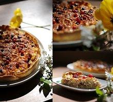 Pyragas su kopūstais ir spanguolėmis