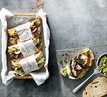 Avokadų ir mocarelos sumuštinis