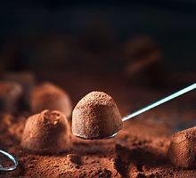 Greiti šokoladinio kremo triufeliai