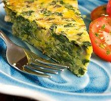 Daržovių ir sūrio kišas be tešlos