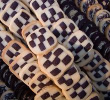 Trapūs šachmatiniai sausainiai
