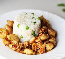 Traški vištiena su sezamais kiniškai