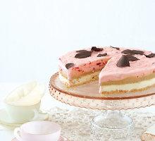 Saldžiarūgštis juodųjų serbentų kremas tortui