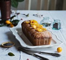 Kvapnus pyragas su apelsinų marmeladu