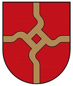 Kretingos rajono savivaldybės nuotr./Darbėnų miestelio herbas