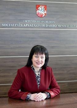 Socialinės apsaugos ir darbo ministerijos nuotr./Angelė Bajorienė