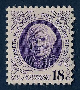 Wikipedia Commons nuotr./E.Blackwell garbei išleistas pašto ženklas