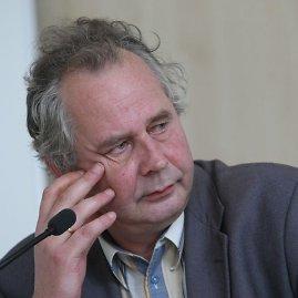 Juliaus Kalinsko / 15min nuotr./Valdybos pirmininku išrinktas profesorius Alvydas Nikžentaitis.