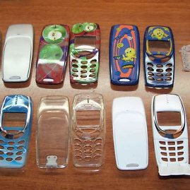 Circulardesigncases.nl nuotr./Nokia 3310 dangtelių pavyzdžiai