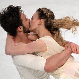 """""""Scanpix"""" nuotr./Gabriella Papadakis and Guillaume'as Cizeronas tapo naujaisiais šokių ant ledo čempionais"""