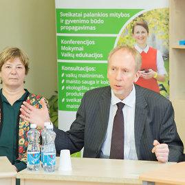Organizatorių nuotr./SAM Mitybos ir fizinio aktyvumo skyriaus vedėjas dr. Almantas Kranauskas
