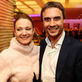 Luko Balandžio nuotr./Mantas Jankavičius su žmona Ieva