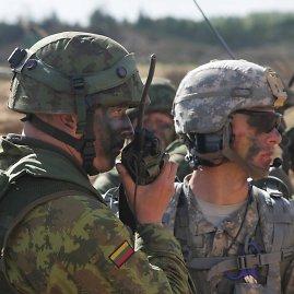 E.Žygaičio nuotr./JAV kariai Rukloje