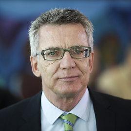 """""""Scanpix""""/AP nuotr./Vokietijos vidaus reikalų ministras Thomasas de Maiziere"""