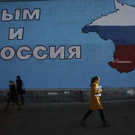 """""""Reuters""""/""""Scanpix"""" nuotr./Krymas po Rusijos įvykdytos okupacijos"""