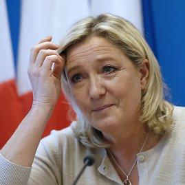 """AFP/""""Scanpix"""" nuotr./""""Nacionalinio fronto"""" lyderė Marine Le Pen"""